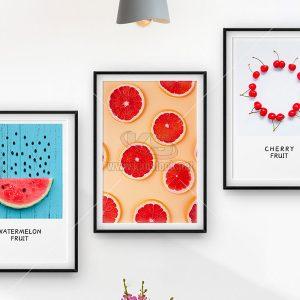 3 Bức tranh trái cây tuyệt đẹp - KS651