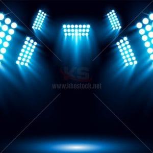 Background ánh đèn sân khấu - KS634