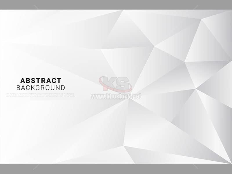 Background poly vector màu trắng – KS532