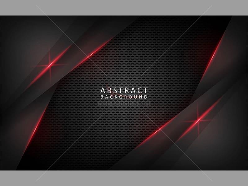 Background trừu tượng màu đen - KS526
