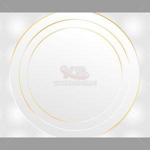 Background vòng tròn viền vàng - KS527