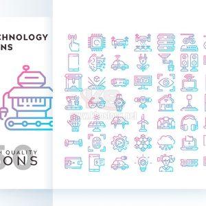 Bộ icons công nghệ tự động – KS576