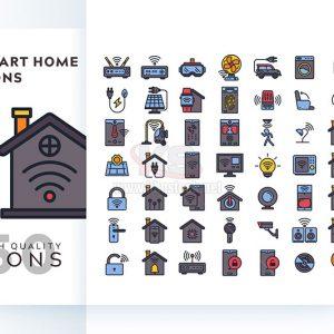 Bộ icons smart home – KS581