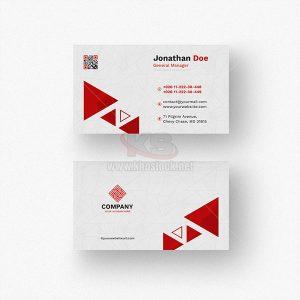 Business Card hoa văn tam giác - KS506