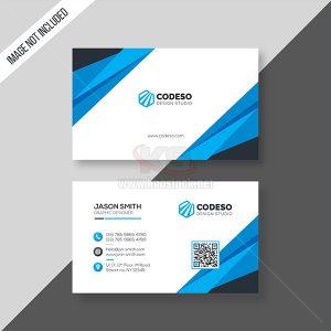 Business Card PSD Blue - KS503