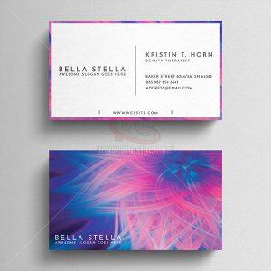 Business Card PSD nữ tính nhẹ nhàng – KS554