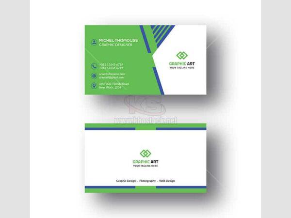 Business Card PSD sáng tạo hiện đại - KS658