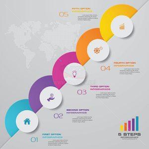 infographic biểu đồ thời gian - KS601