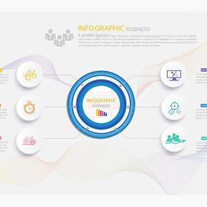 Infographic business vector tuyệt đẹp - KS613