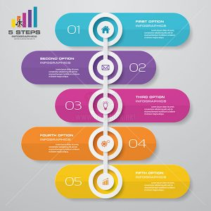 infographic Timeline Vector tuyệt đẹp - KS600