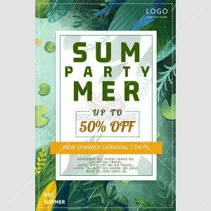 Poster giảm giá mùa hè tuyệt đẹp - KS643