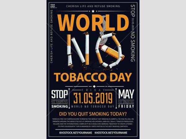 Poster ngày thế giới không thuốc lá - KS624
