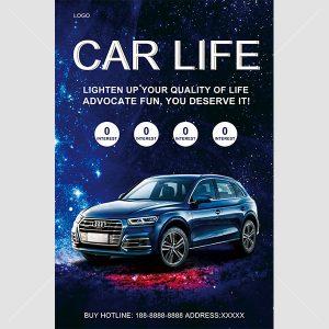 Poster quảng cáo xe hơi tuyệt đẹp - KS645