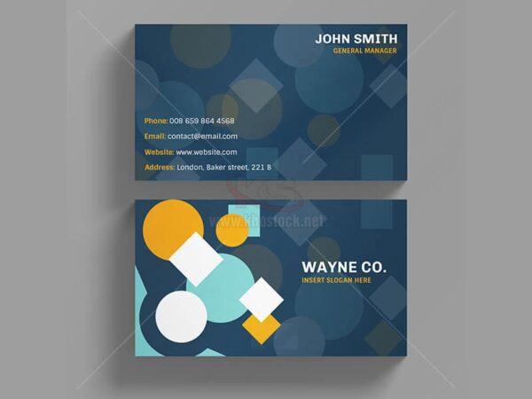 PSD Business Card hình học - KS509