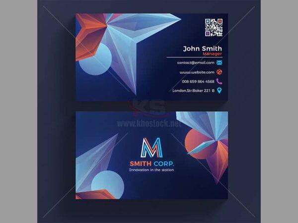 PSD Business Card Kim Cương - KS510