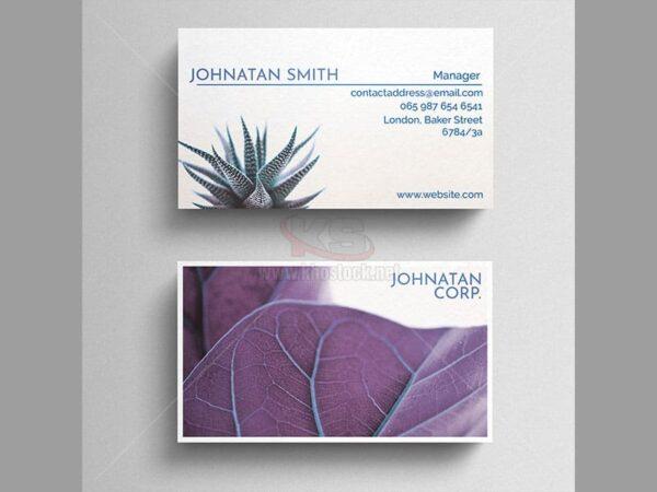 PSD Business Card thiên nhiên - KS538