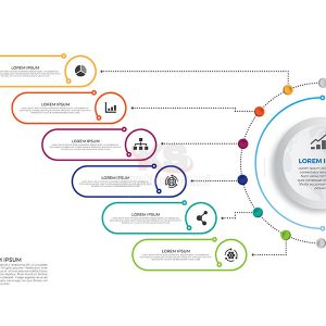 Timeline infographics tuyệt đẹp - KS595