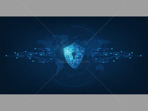 Vector Background công nghệ bảo mật - KS529
