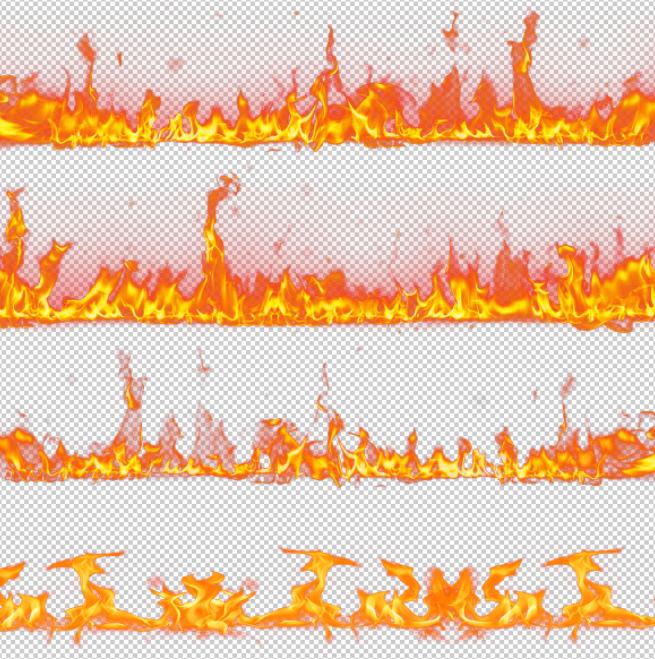 20 PNG hiệu ứng lửa cháy chất lượng cao - KS689