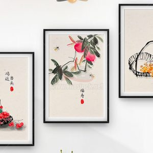 3 Bức tranh treo tường tuyệt đẹp - KS670