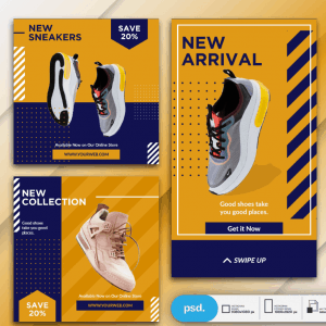 Poster quảng cáo giày - KS693
