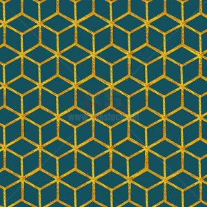 Tranh dán tường 3D hình học - KS669