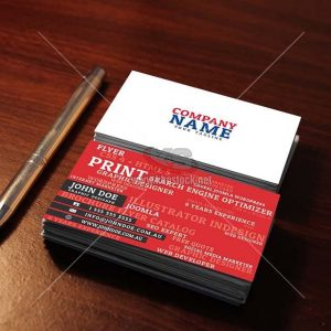 10 Business Card MockUp - KS721