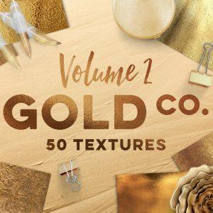 50 Gold Textures chất lượng cao - KS706