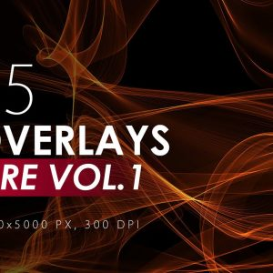 75 Abstract Fire Overlays - KS716