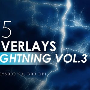 75 Lightning Overlays - KS715