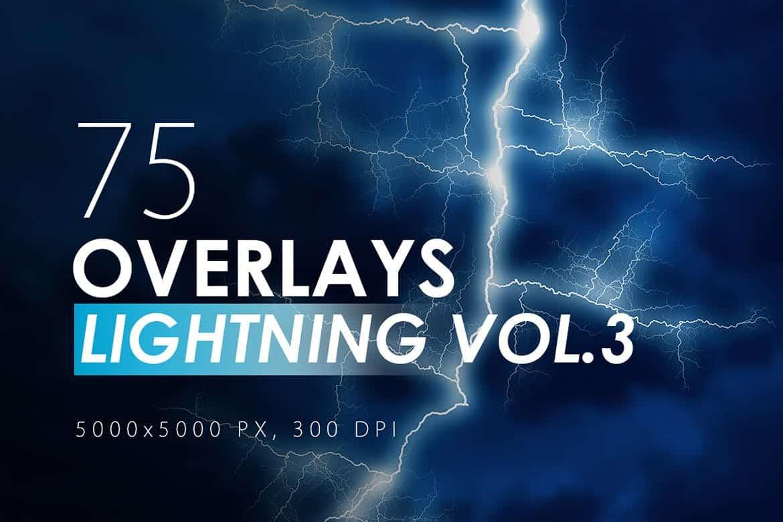 75 Lightning Overlays - KS715