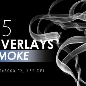 75 Smoke Overlays - KS713