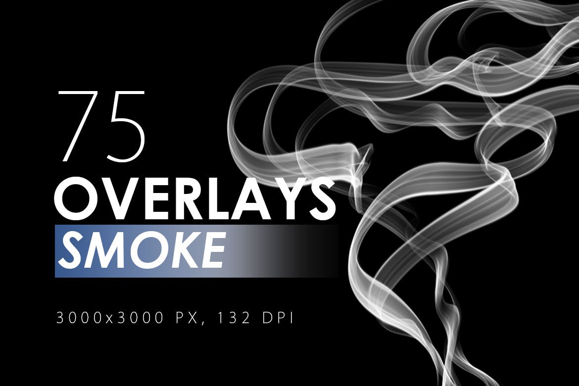 75 Smoke Overlays - KS713
