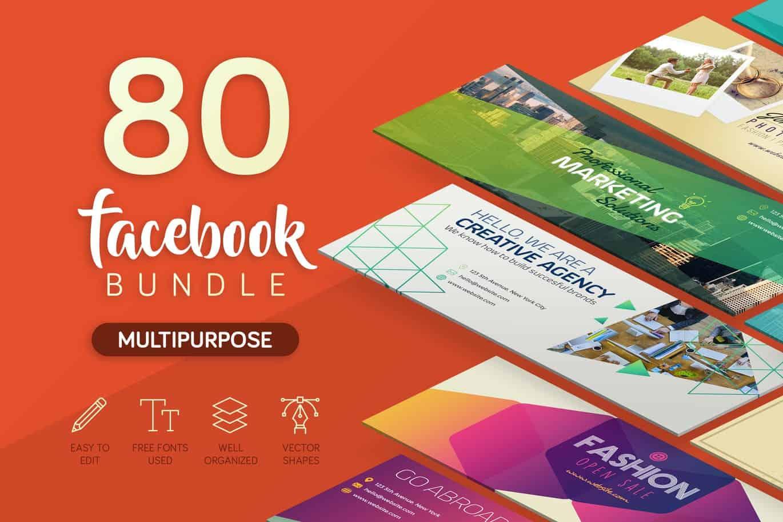 80 PSD Facebook Cover chất lượng cao - KS705