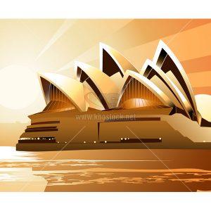 Vector nhà hát Opera Sydney - KS822