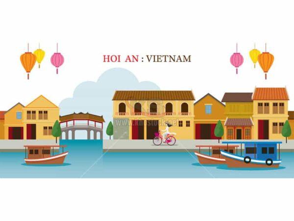 Vector Hội An, Việt Nam - KS846