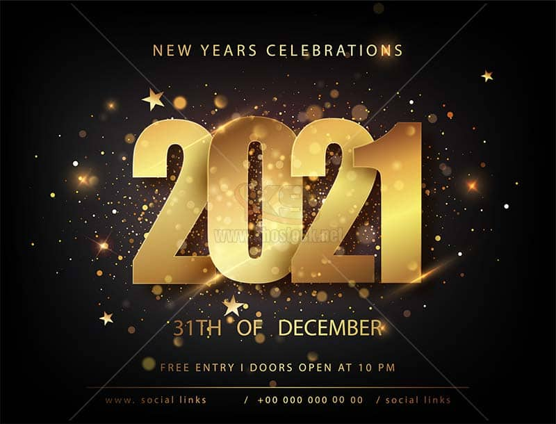 Backgrounds 2021 Vector miễn phí - KS879