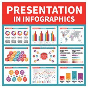 Infographics biểu đồ Vectro tuyệt đẹp - KS893