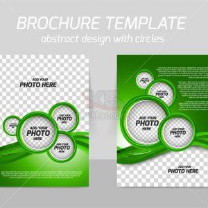 Brochure Template Vector hiện đại - KS913