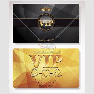 Thẻ VIP Vector sang trọng tuyệt đẹp - KS907