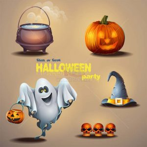 Vector Halloween Party - KS915