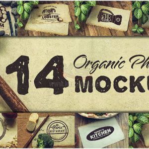 14 hình ảnh Mockup ẩm thực chất lượng cao - KS964