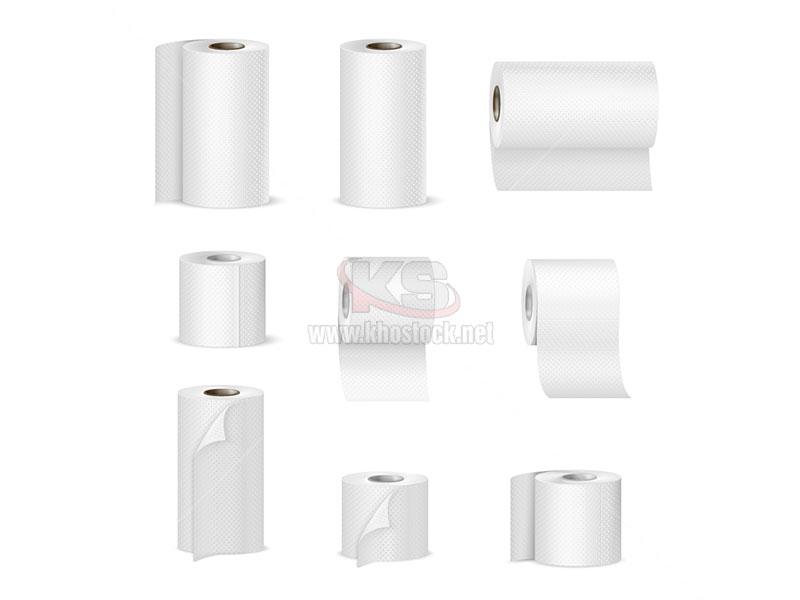 Vector giấy vệ sinh cuộn - KS952