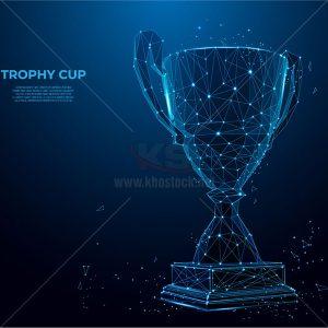 Vector Cup công nghệ màu xanh - KS959