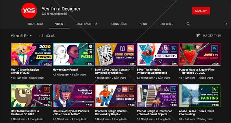Yes, I'm Designer