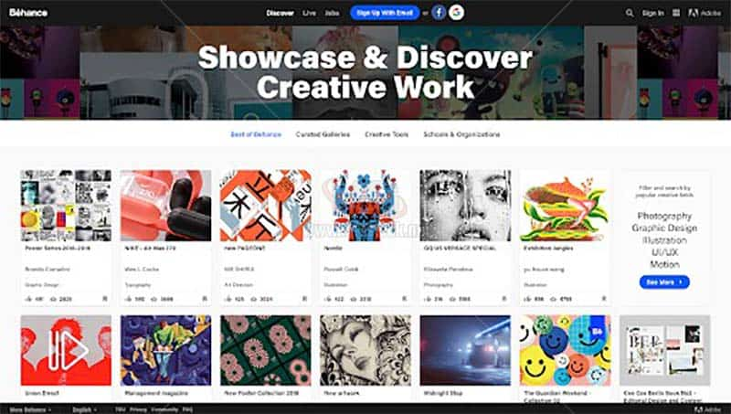 Tự học Adobe Illustrator tìm kiếm cảm hứng