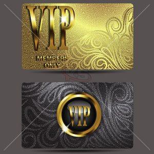 Thẻ VIP Vector chất lượng cao - KS925