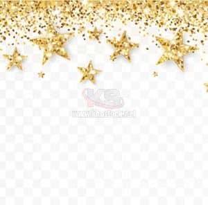 Backgrounds Ngôi Sao màu vàng lấp lánh - KS1069