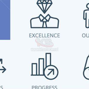 Icons Teamwork Vector chất lượng cao - KS1080