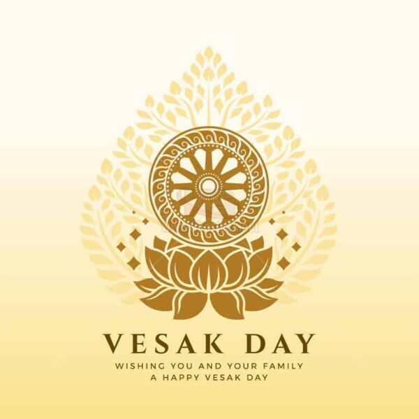 Vector Vesak Day miễn phí cao cấp - KS1159